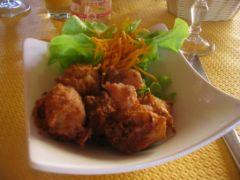 Accras Antillais ou marinade créole