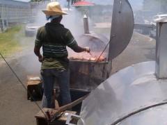 Poulet boucané en Martinique