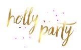LOGO HOLLY PARTY