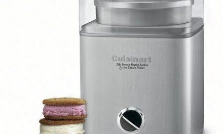 Sorbetière électrique américaine: Cuisinart ICE-30BC