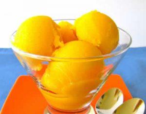 sorbet oranges