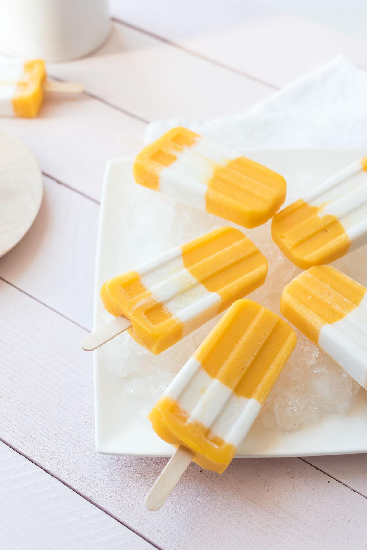Batonnet glace mangue passion coco | Lilie Bakery