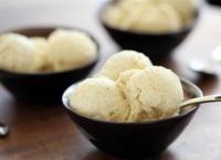 Glace au riz soufflé & vanille