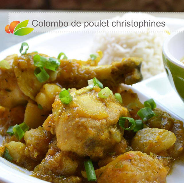 Colombo de poulet aux christophines