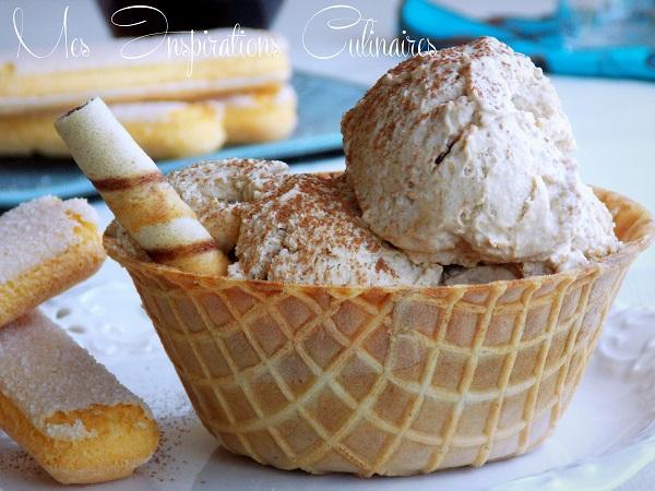Crème Glacée façon tiramisu
