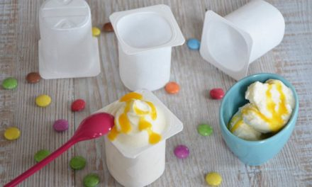 Recette de la glace au yaourt Weight Watchers