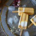 Les popsicle aux pêches et yaourt