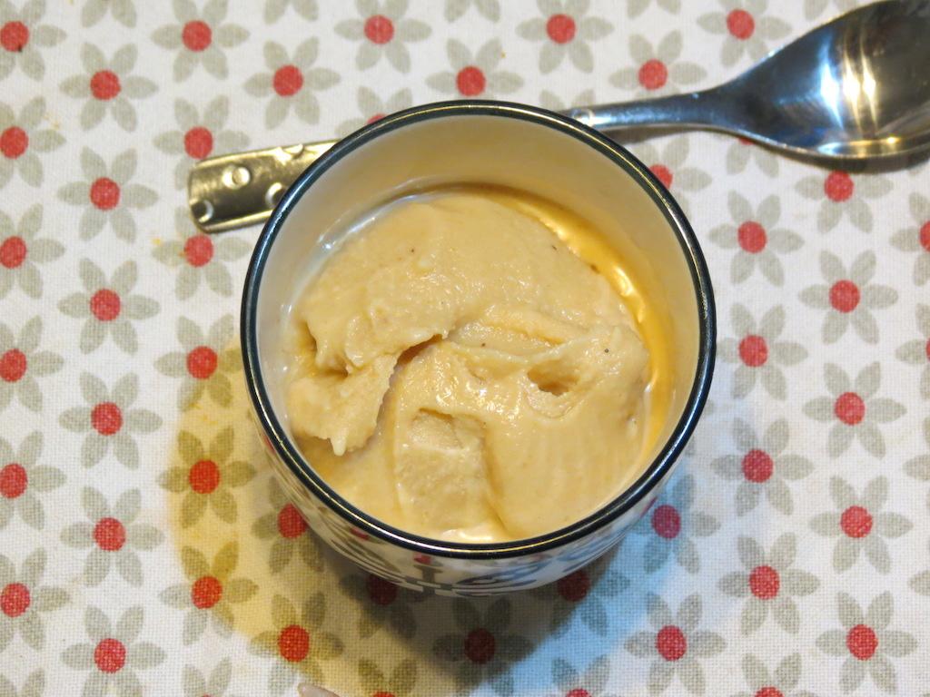 Sorbet à la cacahuète