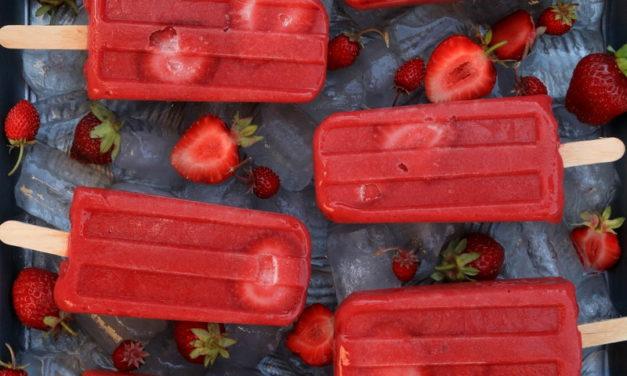 Esquimaux naturels à la fraise