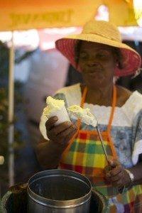 vendeuse de sorbets coco